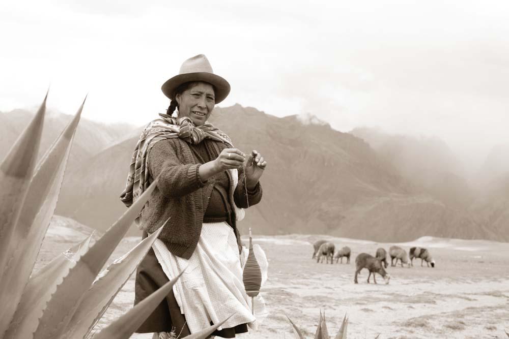 Peru Spinning Wool
